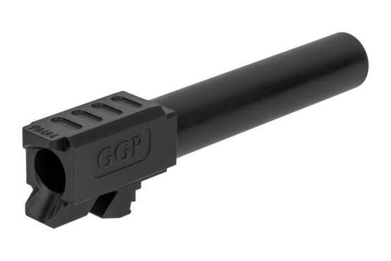 GGP Glock G19 barrel features a match-grade SAAMI-spec 9mm chamber and tough black nitride finish