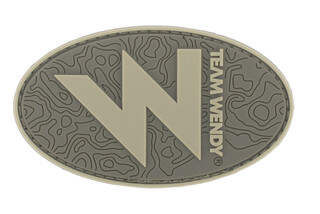 Team Wendy W Morale Patch in green
