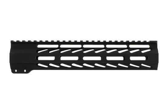Ghost Firearms free float logoless AR 15 M-LOK rail features a tough black anodized finish and full length top rail.