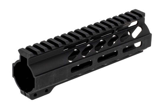 "Ghost Firearms No Logo M-LOK handguard is 7"" long and features a 1.36"" internal diameter"