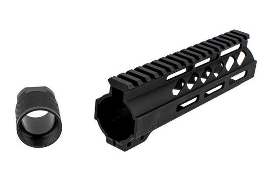 Ghost Firearms 7in No Logo AR-15 M-LOK handguard includes a steel barrel nut