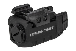 Crimson Trace Rail Master Pro Universal Green Laser Sight & Tactical Light is compact and sturdy.