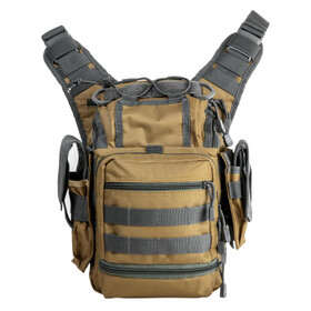 NcSTAR VISM first responders utility bag comes in tan and gray