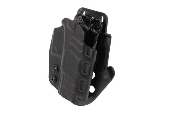DeSantis Glock 19 Paddle holster features an OWB design