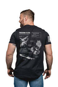 Under Armour Eagle Schematic shirt in black