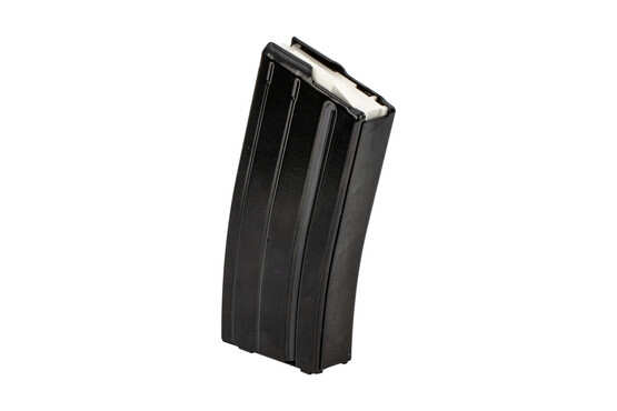 The E-Lander 7.62x39 Steel AR15 Magazine features a white polymer follower