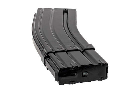 The E-Lander 5.56 NATO 40 round magazine features a removable floor plate