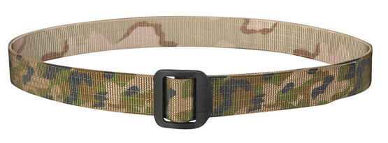 Propper 180 Belt in woodland desert, front view