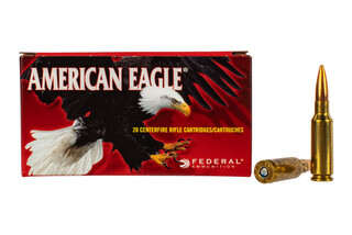 Federal American Eagle 6.5 Grendel features the 120 grain open tip match bullet