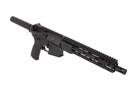 Radical Firearms 10.5in 5.56 NATO AR-15 pistol features a lightweight M-LOK handguard and effective Panzer brake