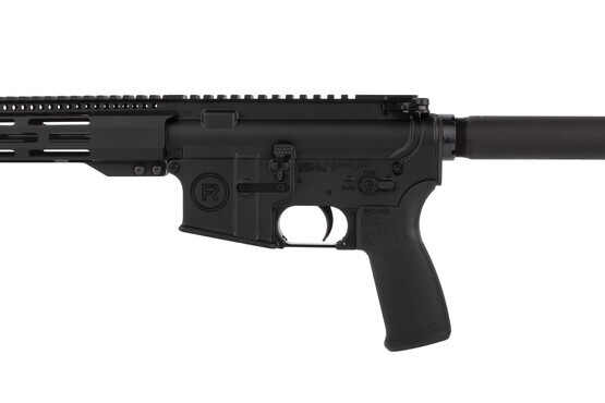 Radical Firearms 10.5in 5.56 NATO pistol with Mission First Tactical pistol grip is compatible with .300 Whisper