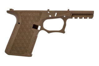 Grey Ghost Precision Compact Combat Pistol Frame is made from flat dark earth polymer