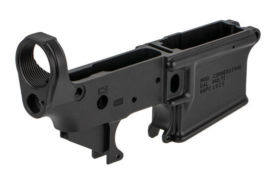 "Grey Ghost Precision 7075-T6 aluminum forged lower receiver is machined to 0.001"" tolerances for exceptional precision"