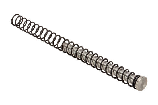 The Taran Tactical Glock 17 Stainless Steel Guide Rod comes with a 14 pound recoil spring