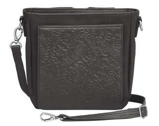 Gun Tote'n Mamas Mini Boho Cross-Body Concealed Carry Purse in Black
