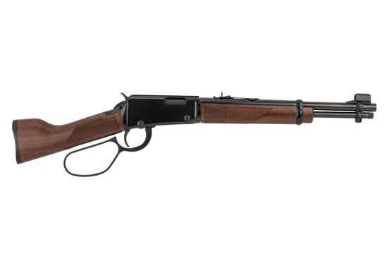 Henry Mares Leg 22 Magnum lever action pistol features a 12.9 inch barrel
