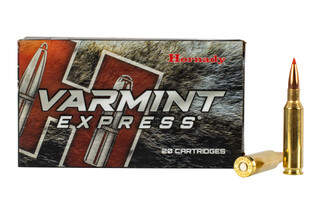 Hornady 6.5 Creedmoor Varmint Express features the 95gr V-Max bullet