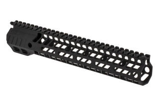 "SLR Rifleworks HELIX series 11.7"" M-LOK rail for the AR-15 with full length top rail with black anodized finish."