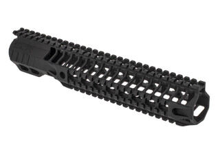"SLR Rifleworks HELIX series 11.7"" Quad rail for the AR-15 with full length top rail with black anodized finish."