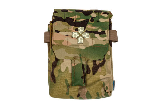 The Blue Force Gear Multicam Trauma Kit Now uses the Helium Whisper attachment system