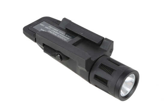 The inforce weapon mounted light has an integrated picatinny rail clamp for maximum compatibility with handguards