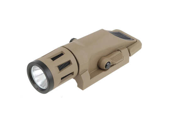 The Inforce WML white and IR weapon light boasts 400 lumens at 1.5 hours of continuous light