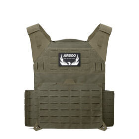 AR500 Armor Invictus carrier in OD green