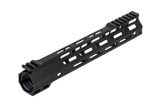 The SLR 11 Ion Ultra Lite free float handguard uses an anti-rotation barrel nut to ensure a proper fit
