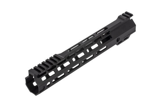 The SLR handguard Ion Ultra Lite has multiple vent holes and lightening cuts to cool the barrel
