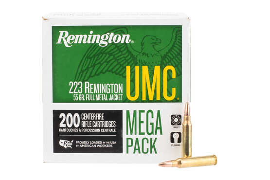 Remington UMC .223 55Gr ammo