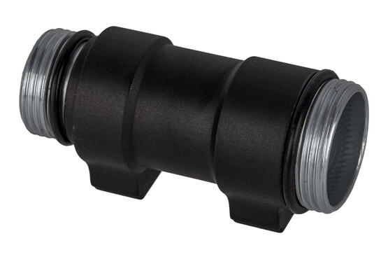 Arisaka Defense 300-series Light Body for CR123A batteries is compatible with Surefire accessories and Scout mounts.