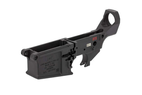 Lewis Machine Tool stripped MWS lower receiver features is ready for ambidextrous controls
