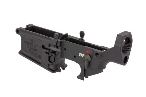 This Lewis Machine and Tool lower is perfect for building a .308 or 6.5 Creedmoor rifle
