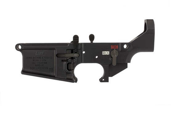 The MARS-H stripped .308 lower receiver is compatible with AR-15 triggers