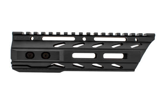 The Phase 5 Tactical Slope Nose lo-pro ar15 handguard 7.5 features a black anodized finish