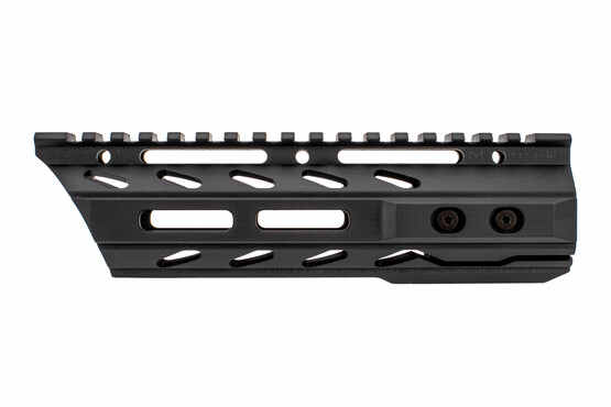 The Phase 5 Tactical lo pro free float handguard 7.5 features an extended top rail