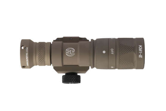 SureFire M300V IR Scout weapon light with tan finish weighs just 4.5 oz with integral mount