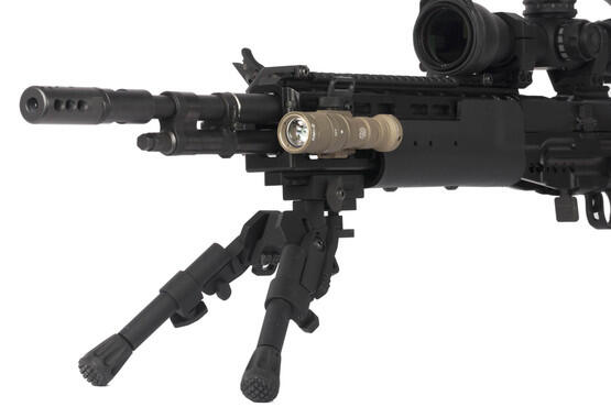 SureFire M300V IR Scout flash light mounts directly to Picatinny rail systems on your favorite carbines, rifles, and shotguns
