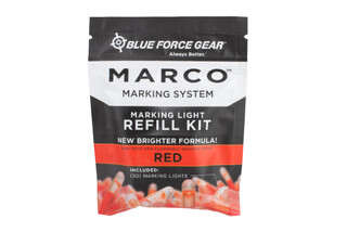 Blue Force Gear MARCO Training Refill Light Sticks in Red