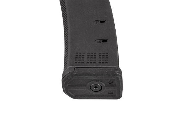 Magpul Scorpion Magazine features a removable floor plate and witness holes