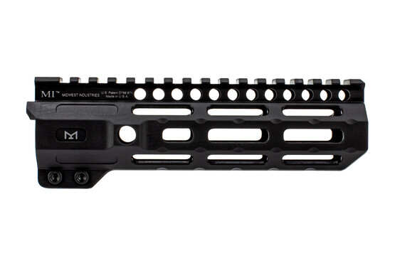 "Midwest Industries 7"" Combat Rail is an AR-15 handguard with M-LOK slots and black finish"