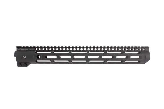 15in Midwest Industries slim line AR-15 handguard features M-LOK slots and will cover a Mid-length gas system