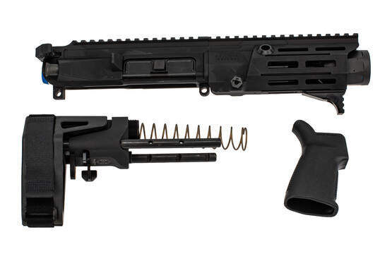 Maxim Defense PDX 300 Blackout AR Pistol Kit features a black anodized finish