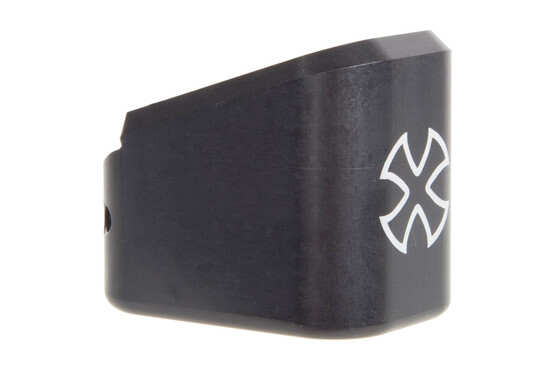 The Noveske TTI Glock Magazine extension increases your round count by one