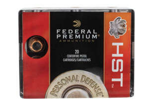 Federal HST 45 ACP Hollow Point Ammunition is designed for personal defense