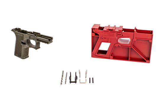 Polymer 80 PF940C 80% frame Kit comes with the milling jig