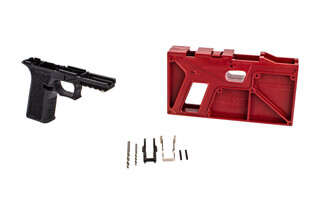 Polymer 80 PF940 V2 80% Full Size Frame Kit in black is the perfect starting point for your custom Glock