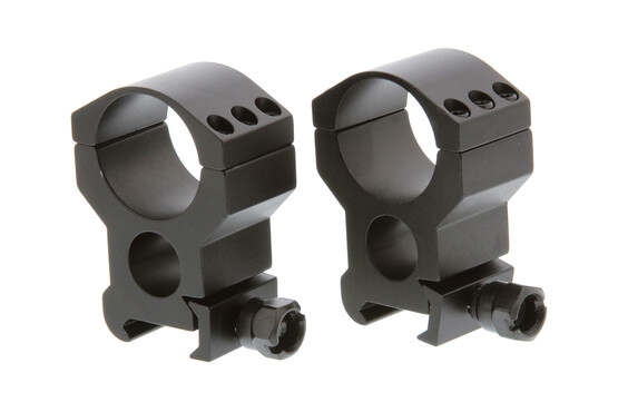 The Primary Arms extra high 30mm tactical scope rings allow you to attach large optics to your picatinny rail