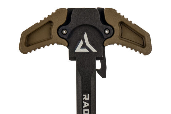 Radian Weapons Raptor LT SR25 ambidextrous charging handle features large textured latches