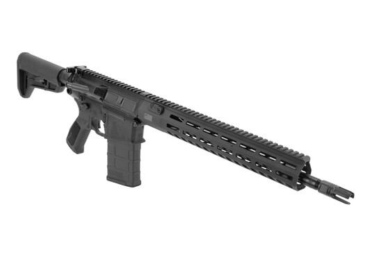 "SIG Sauer 7.62x51mm Tread rifle with 16"" with flash hider and rifle-length gas system"